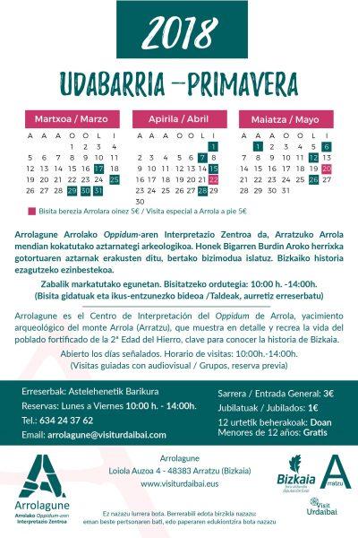 FLYER ARROLAGUNE PRIMAVERA22